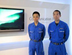「南極では貴重な経験をした」と語る齋藤さん(左)と松嶋さん