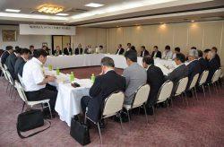 会員企業が参加して行われたSTTG工法協会の社員総会