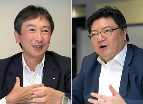関西電力 高市和明氏(左) インテル 張磊氏(右)