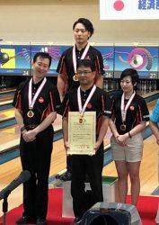 部門別大会で優勝、決勝大会でも3位に入賞した石川支店Aチーム
