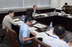プルトニウム利用の基本的な考え方について検討した原子力委員会(31日、東京・永田町)
