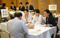 四国の食品企業30社が参加、台湾向け輸出の商談を行った