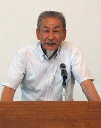 仲間同士の注意喚起と安全の維持継続を呼び掛けた鈴木会長