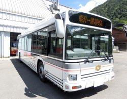 関電トンネルで来年4月から運行を開始する電気バス