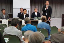 中国電力は島根3号の安全審査申請に向けて住民説明会を6~7月に相次いで開催した(松江市での説明会の模様)