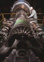 鹿島南共同発電に納入するガスタービン「L30A」