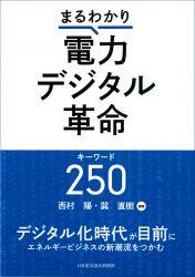 西村陽・巽直樹 編著『まるわかり電力デジタル革命キーワード250』(日本電気協会新聞部刊)