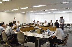 ICTの活用事例について活発に議論を交わす参加者