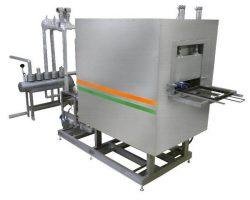 過熱水蒸気と電気ヒーターを組み合わせた「HDサーモII/CP」