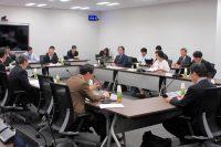 北海道全域停電の再発防止策を提起した広域機関の検証委員会(10月9日、東京・豊洲)