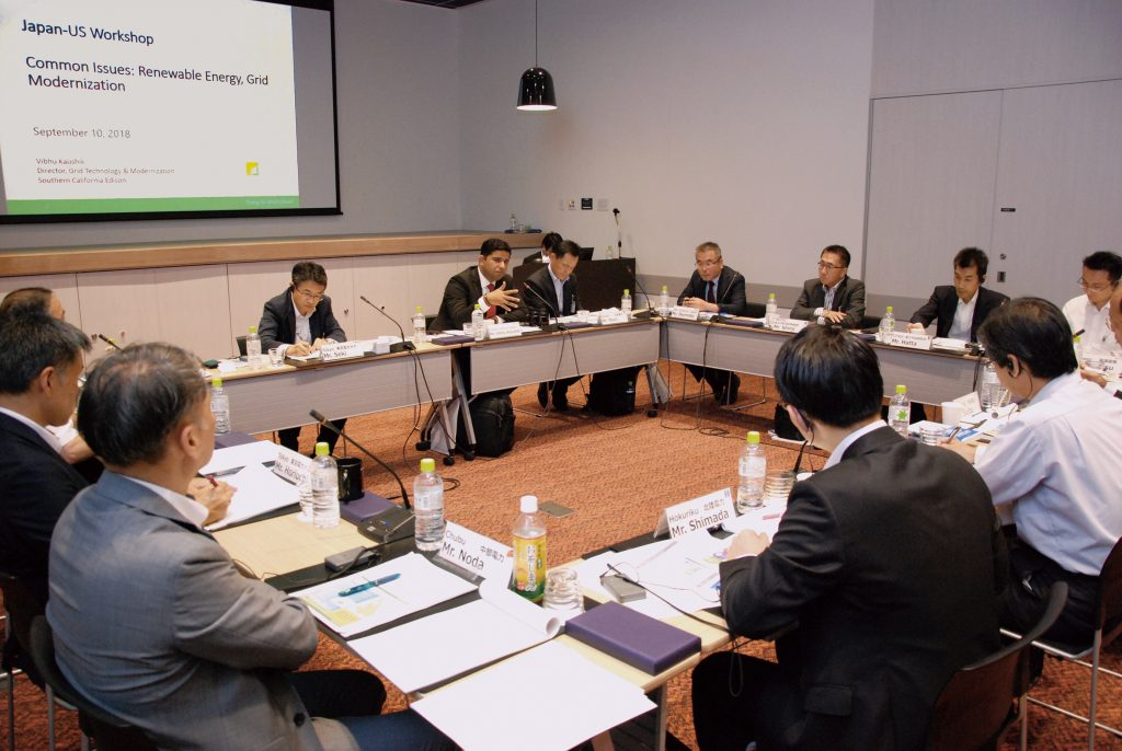系統の近代化について話し合った日米電力ワークショップ