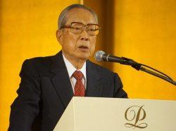 原子力発電への理解促進に注力する方針を示す今井会長