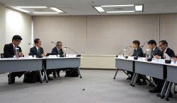 規制委と原子力部門責任者との意見交換会