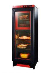 四国計測工業が開発した、電気加熱で食品の「熟成」を促進する装置