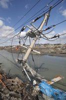 東日本大震災は網地島(あじしま)と田代島にも甚大な被害をもたらした(写真は石巻市街)