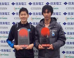 MGC(マラソングランドチャンピオンシップ)への出場権を獲得した河合選手(右)