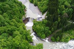 関電工、上結東水力が運開/既存ダムの有効落差活用、環境にも配慮 | 電気新聞ウェブサイト