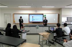 関西電力、関西大学高等部で出前授業/エネ事業とSDGs議論 | 電気新聞ウェブサイト